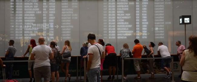 Viyana havalimanında teknik arıza kaosu