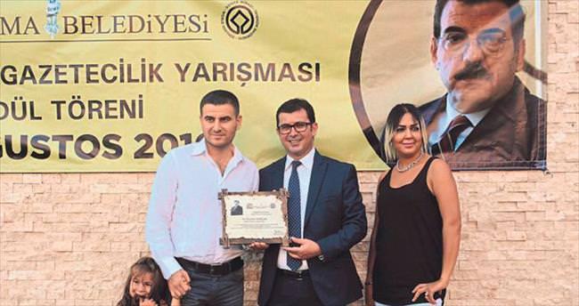 Ceyhan Torlak ödülünü aldı