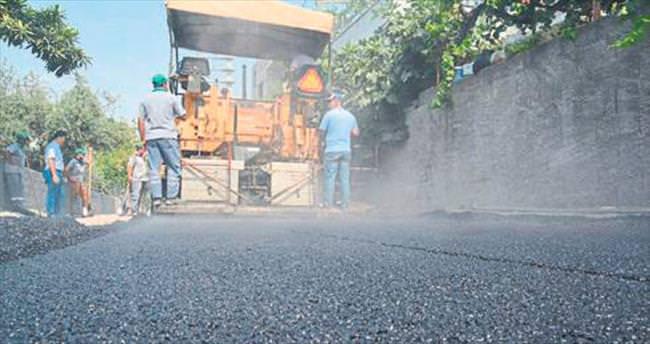 Mareşal Fevzi Çakmak Mahallesi asfaltlanıyor