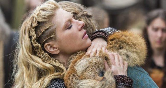 Vikingler'in savaşçı güzeli Türkiye'de