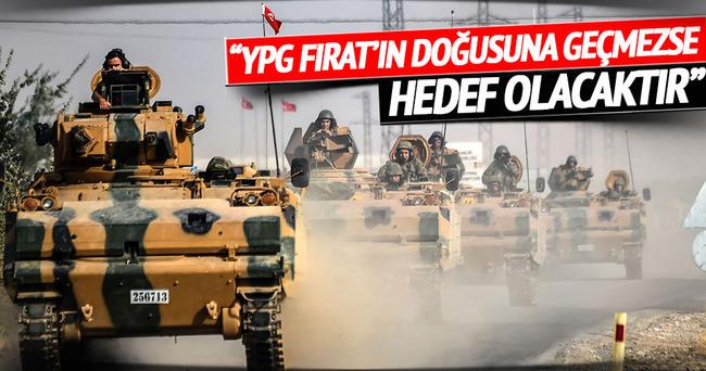 Bakan Çavuşoğlu: YPG bir an evvel...