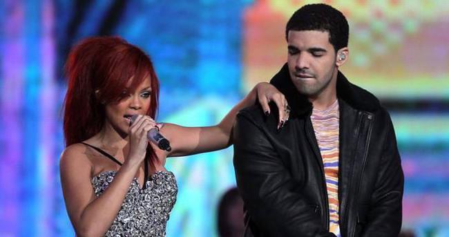 Drake, Rihanna'ya olan aşkını böyle ilan etti