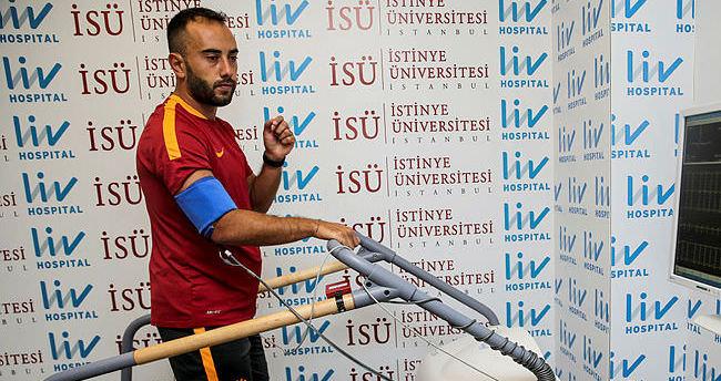 Galatasaray'da Olcan Adın'la yollar ayrıldı