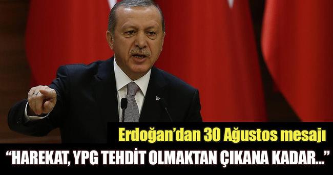 Cumhurbaşkanı Erdoğan'dan Cerablus mesajı