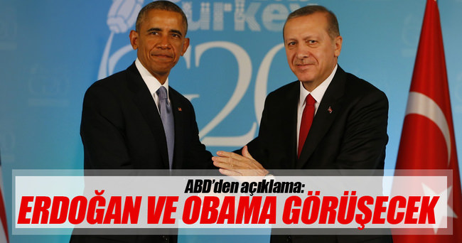 Erdoğan ile Obama Çin'de görüşecek!