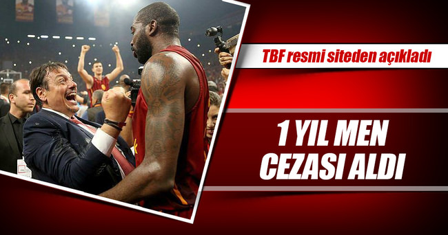 Stephane Lasme'ye 1 yıl men