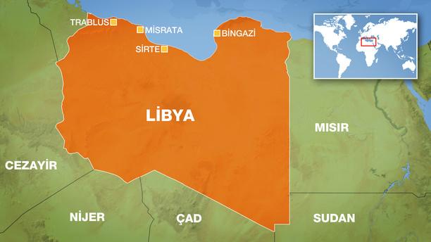 Libya'da DAEŞ'e yönelik operasyonlar
