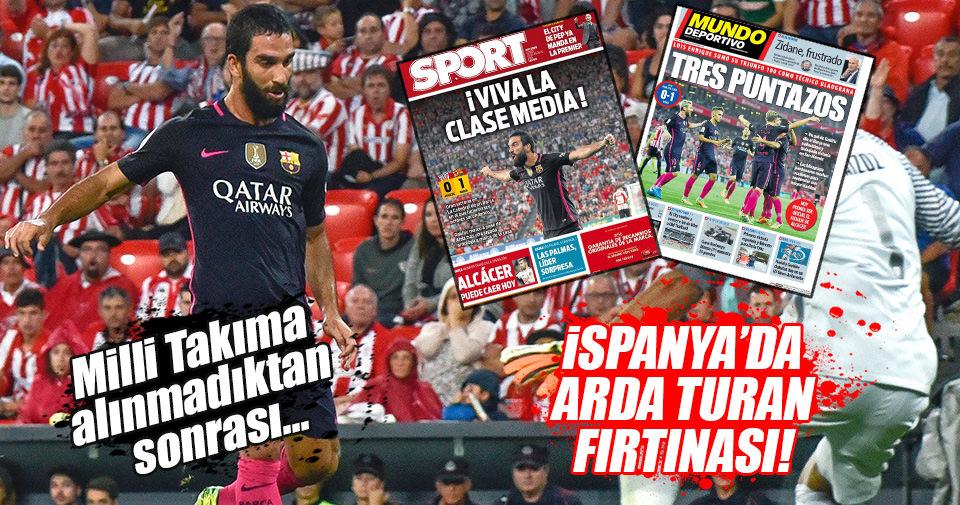 İspanya'da gündem Arda Turan!