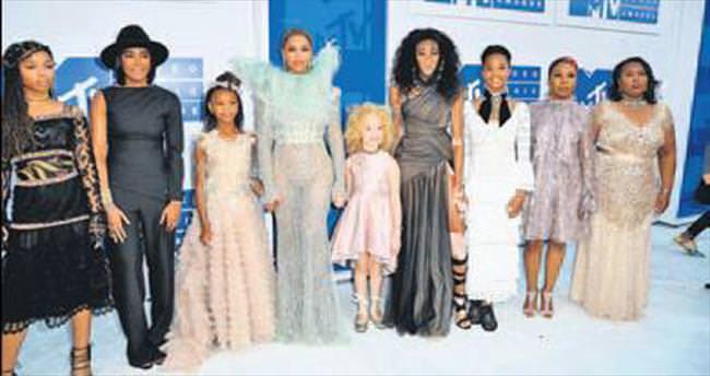 MTV Ödülleri'ne Beyonce damgası