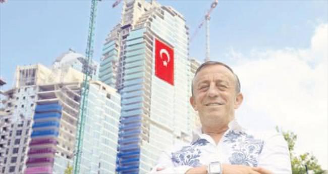 Ağaoğlu Maslak'ta konutları ofise çevirdi