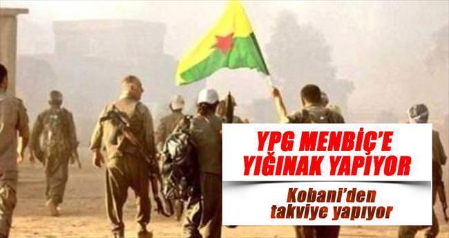 YPG Menbiç'e yığınak yapıyor
