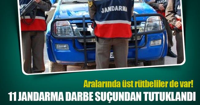 11 jandarma darbe suçundan tutuklandı