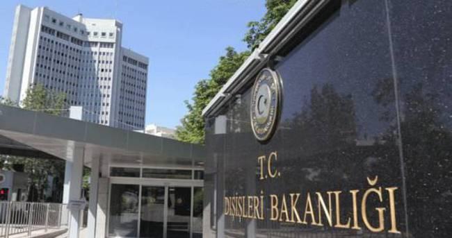 Dışişleri Bakanlığı, o ülkedeki terör saldırısını kınadı!