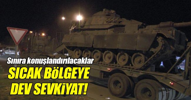 Diyarbakır'dan Şanlıurfa'ya askeri sevkiyat