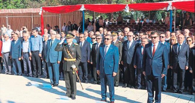 Burdur'daki kutlamalar