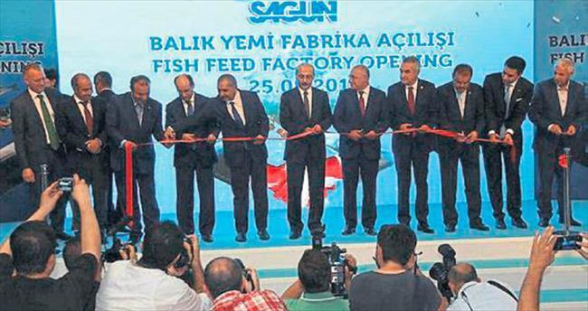 20 milyon avroluk balık yemi fabrikası