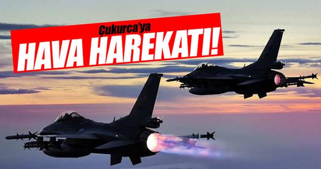 TSK'dan Çukurca'da hava operasyonu