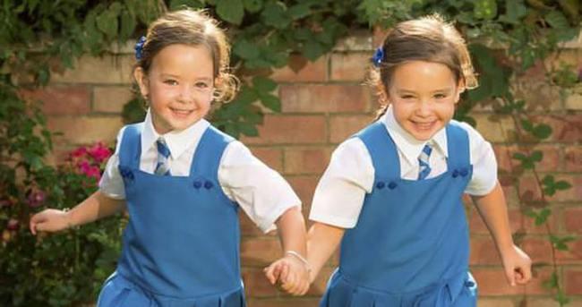 Mucize ikizler okula başlıyor
