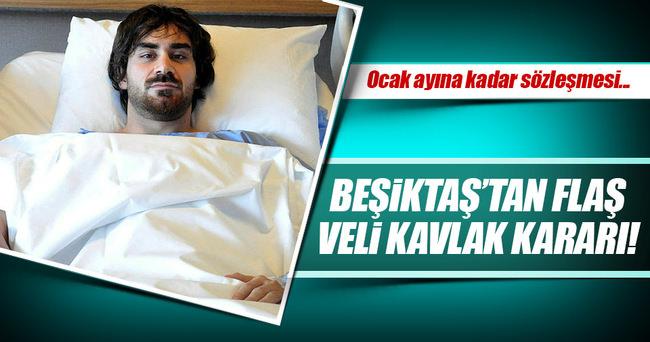 Beşiktaş'ta flaş Veli Kavlak kararı