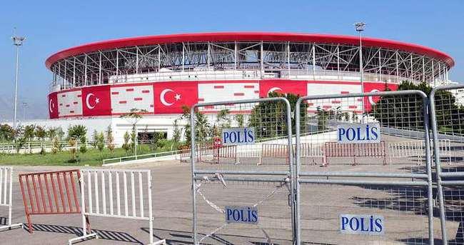 Türkiye - Rusya maçı için yüksek düzeyli güvenlik