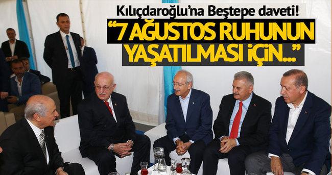 Başbakan Yıldırm: Kılıçdaroğlu'nu tekrar davet edeceğim