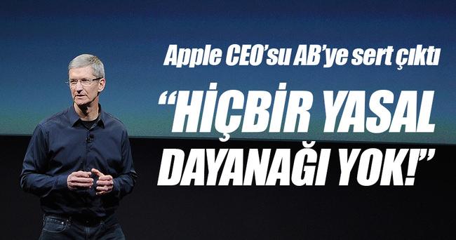 Apple'dan AB'ye sert tepki!