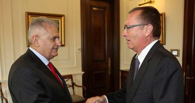 Başbakan Yıldırım, BM Genel Sekreter Yardımcısı ile 15 Temmuz'u konuştu
