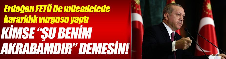 Cumhurbaşkanı Erdoğan: Devletten temizlemezsek şehitlere hesabını veremeyiz