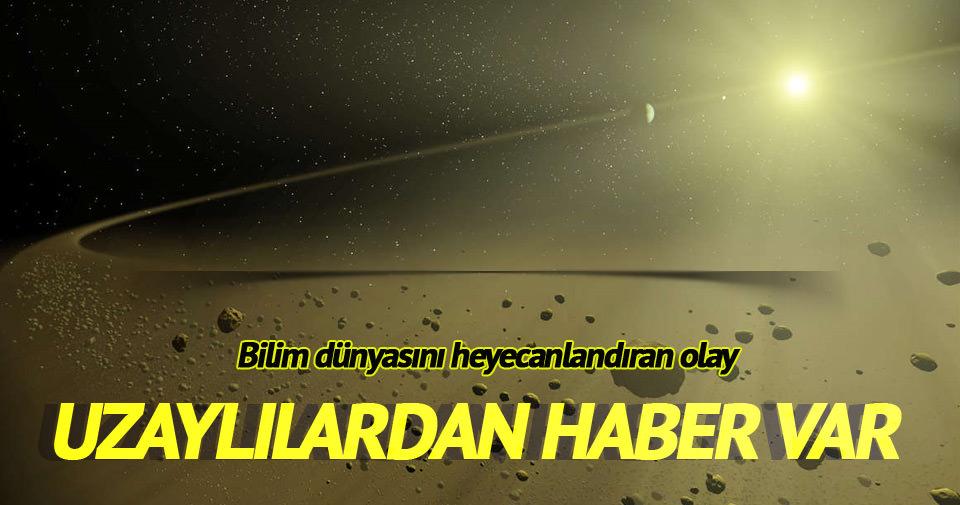 Uzaylılardan radyo sinyali