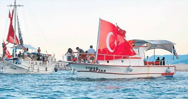 Antalya'ya çok yakıştı
