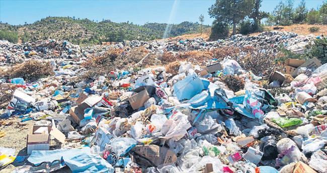 Spor sahasıydı çöp alanı oldu