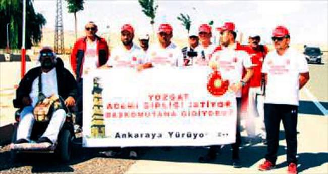 Yozgatlılar, askeri birlik için yoldalar