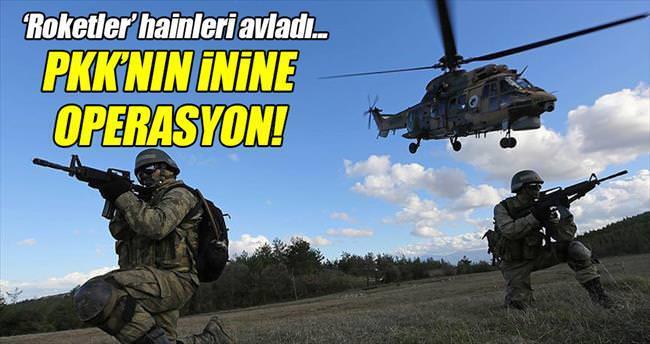 PKK'nın ini Ape Musa'ya operasyon
