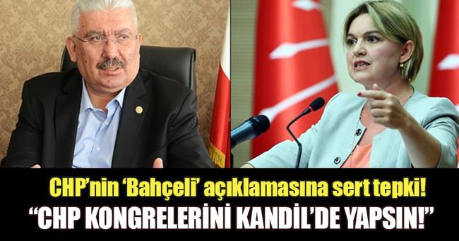 MHP'li Yalçın'dan CHP'ye sert yanıt