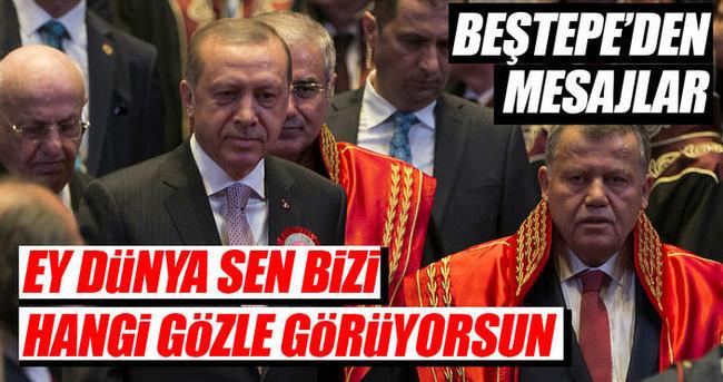 Cumhurbaşkanı Erdoğan: Ey Dünya sen bizi hangi gözle görüyorsun