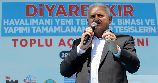 Başbakan Yıldırım Diyarbakır'a gidecek!