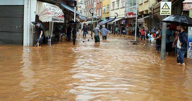 Rize'de şiddetli yağış: 1 çocuk kayıp