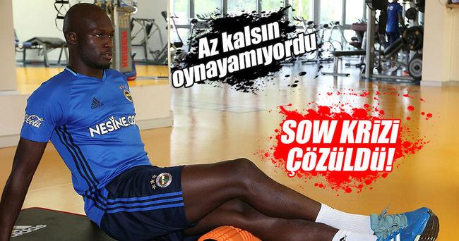 Fenerbahçe'de Sow sorunu çözüldü