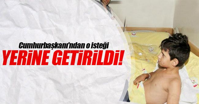 Cumhurbaşkanı Erdoğan'dan o isteği yerine getirildi!