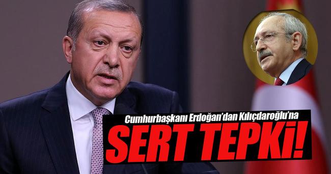 Erdoğan'dan Kılıçdaroğlu'na sert tepki!