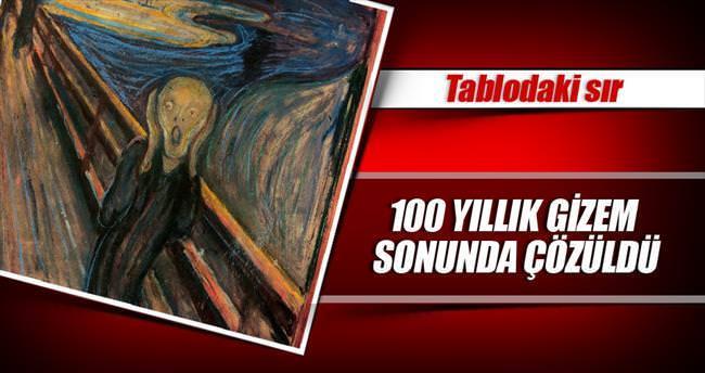 Ünlü tablodaki 100 yıllık sır açığa çıktı