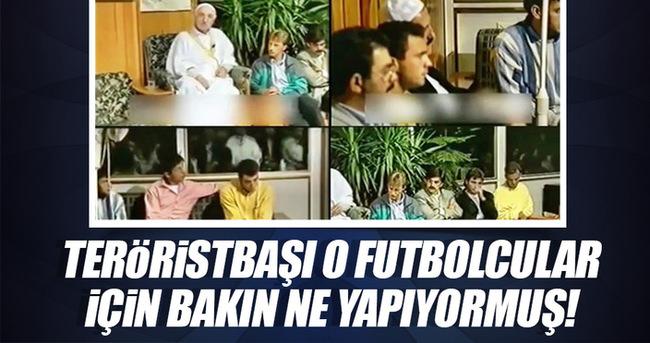 Teröristbaşı Gülen o futbolcular için bakın ne yapıyormuş!