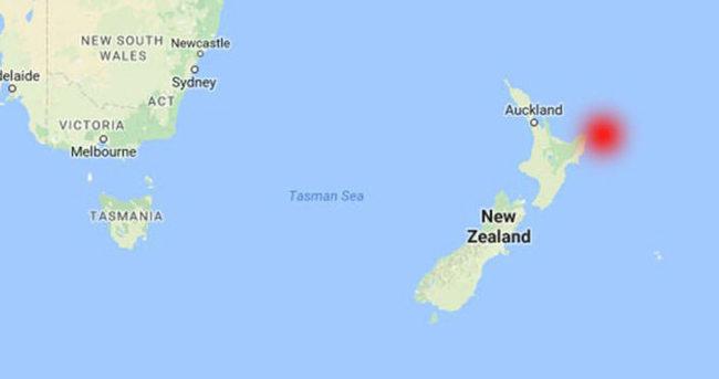 Yeni Zelanda'da 7.1'lik deprem!