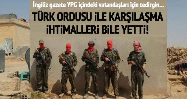 Türkiye'nin YPG'nin üzerine gitmesi İngilizleri korkuttu
