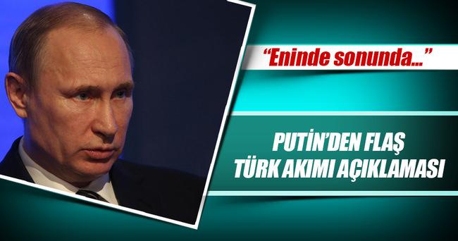 Putin'den Türk Akımı açıklaması