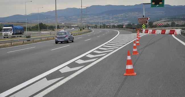 TEM'in Bolu Batı Kavşağı 2 gün ulaşıma kapatılacak