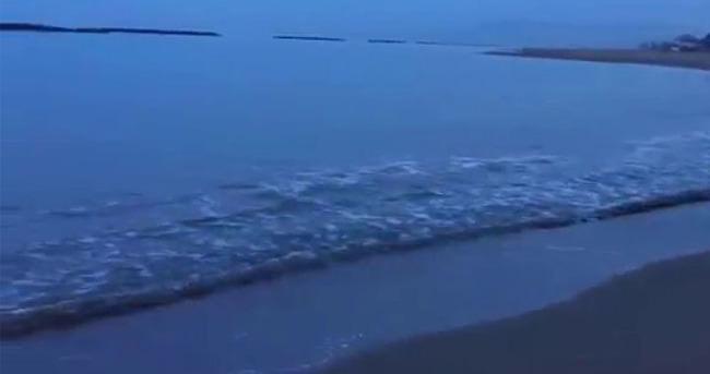 Denize giren imamın cesedi karaya vurdu