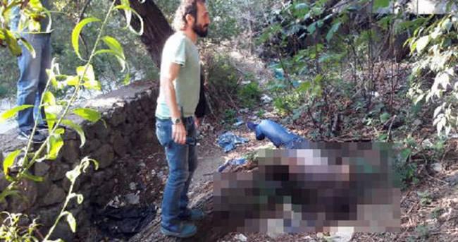 Dere kenarında erkek cesedi bulundu