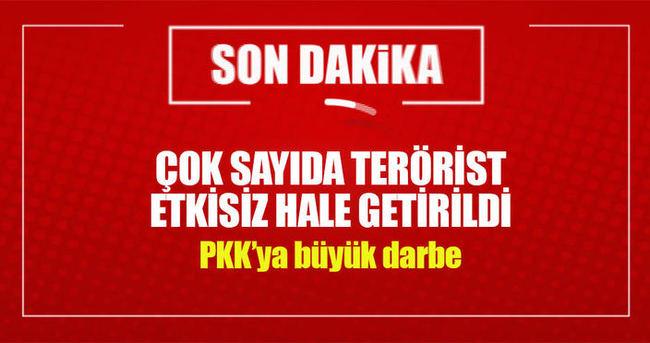 Çukurca kırsalına hava harekatı! 33 PKK'lı öldürüldü