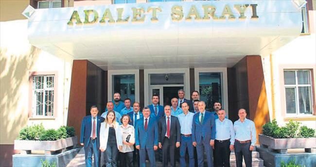 Akdoğan Adli Yıl'ı kutladı